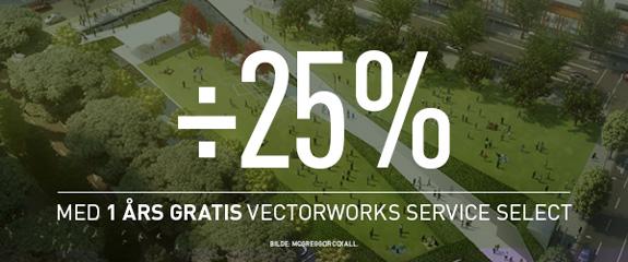 Sats på Vectorworks