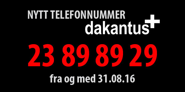 nytt nummer for dakantus+: 23898929